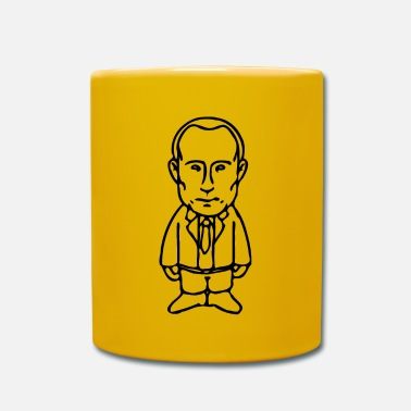 Caricature Vladimir Putin drawing caricature motif - Full Colour Mug