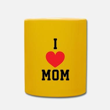 4f379844f8c Moeder Ik hou van moeder - moeder moeder moeder moeder moeder - Mok