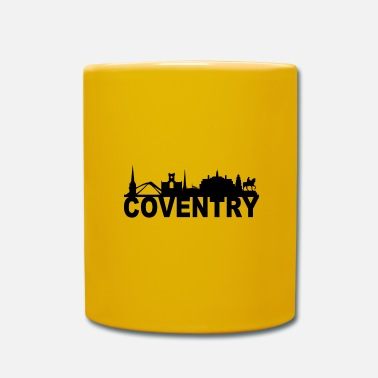 Coventry Coventry England Skyline Gift Idea Reino Unido - Taza de un color