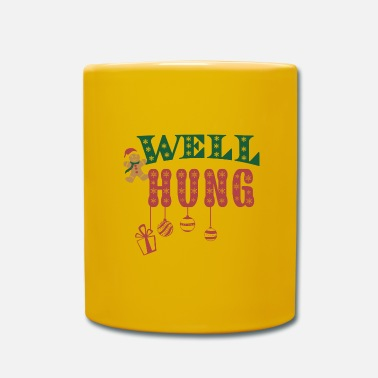 Wellness Well Hung - Kubek jednokolorowy