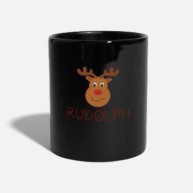 Rentier Rudolph Red Nose - Tasse