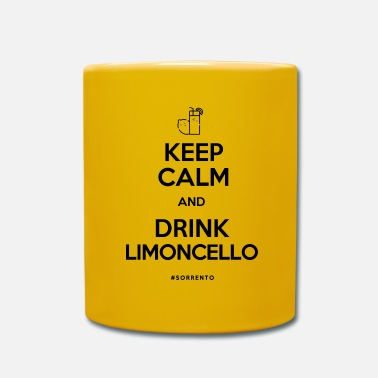 Keep calm and drink Limoncello - Full Colour Mug