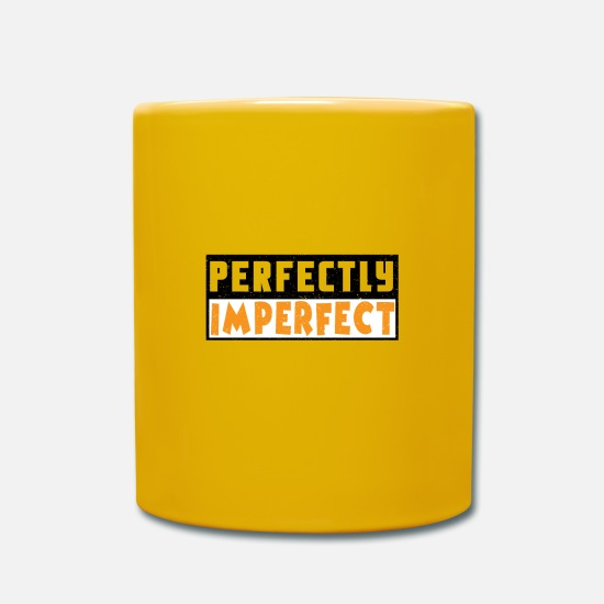 Birthday Mugs & Drinkware - Completely imperfect contrast - Mug sun yellow