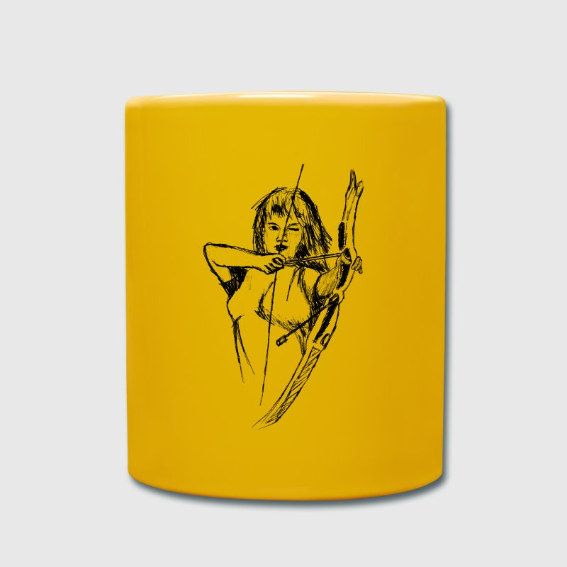 archery - Full Colour Mug