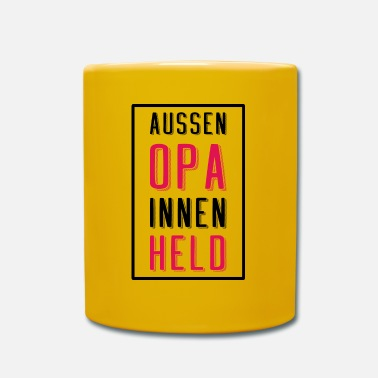 Held Opa Helden - Tasse