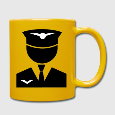 Jet Avion Capitaine - Mug uni