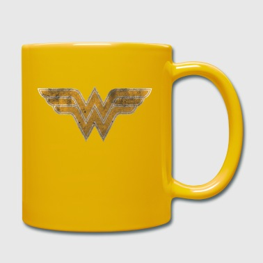 Justice League Wonder Woman Logo Tasse - Tasse einfarbig