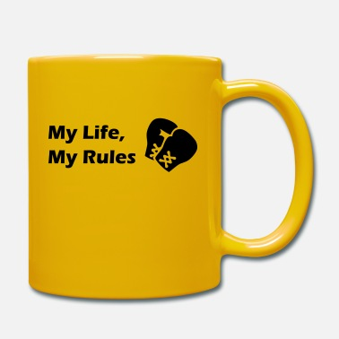 My Life My Rules - Boxen - Tazza