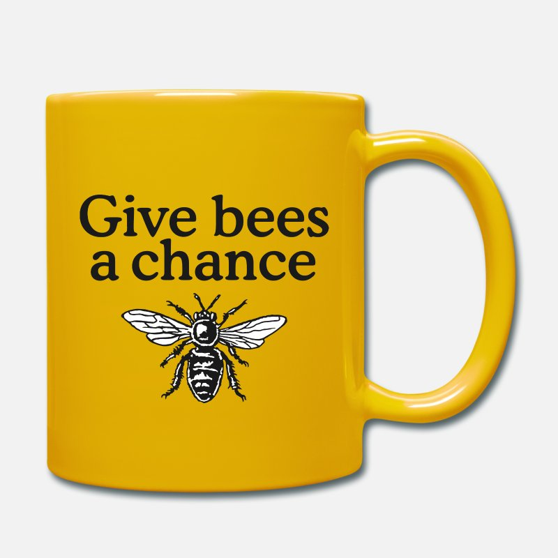 Bestsellers Q4 2018 Mugs & Drinkware - Give Bees a Chance T-Shirt - Mug sun yellow
