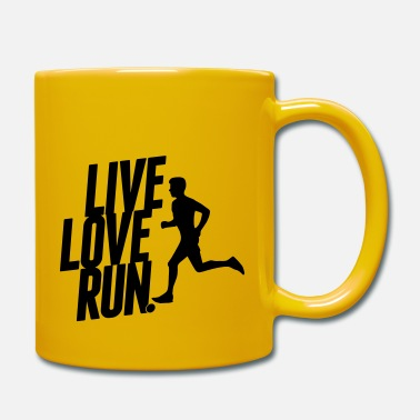 Sprinten Live love run - Mug
