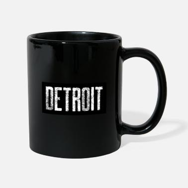 Down With Detroit Detroit USA Americas Cities City Michigan detroit - Mug