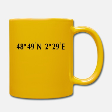 Latitude Paris - Longitude & Latitude - Mug