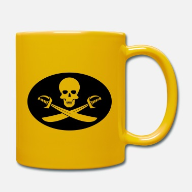 Piraten Flagge Shirt und Produkte Jolly Roger - Tasse