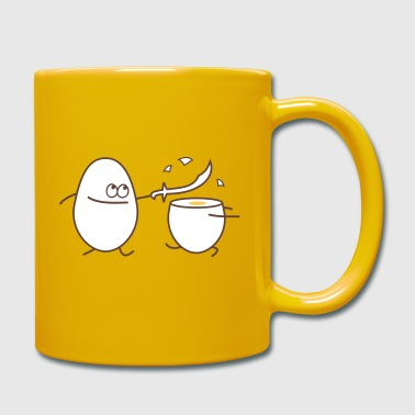 egg fight - Full Colour Mug