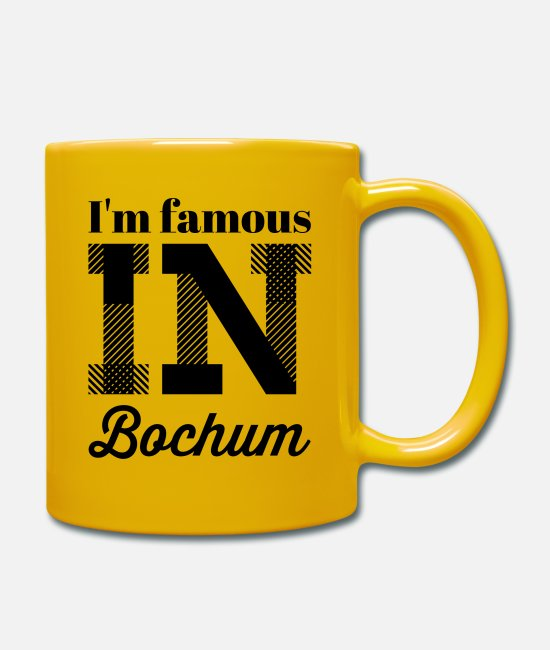 Bochum Mugs & Drinkware - In the famous in bochum - Mug sun yellow