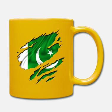 Country Flag Football Sport And Arab Art Jesus country flag pakistan - Mug