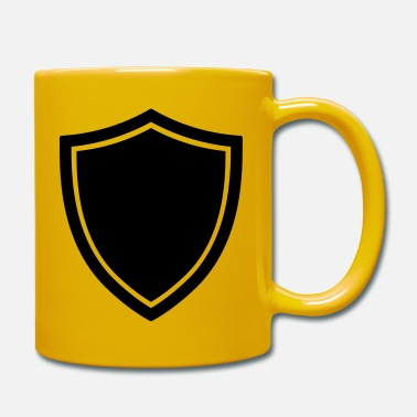 Shield Schild-Symbol-Logo-Form-Sicherheit - Tasse