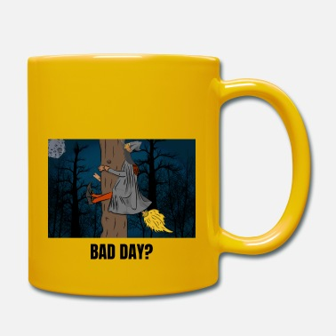 Happy Halloween funny pun Comic Bad Day? - Tasse