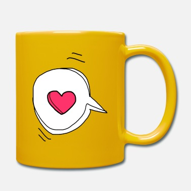 Message Damour Message d'amour - Mug