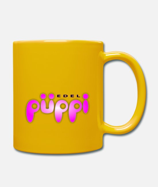 Graphics Mugs & Drinkware - edelpueppi - Mug sun yellow