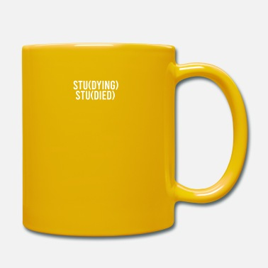 Studies Student Studying - Studied - Mug