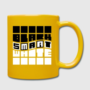 Black-Smart-White - Mug uni