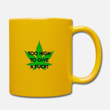 Roken Wees high | Weed grass drugs pothead 420 | gift - Mok uni