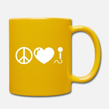 Peace Love Music - Mug