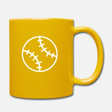 Fan Club Baseball bat baseball player baseball gift - Mug