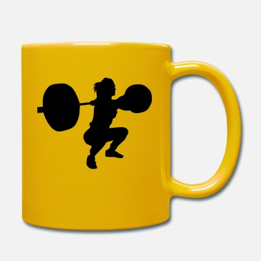 Squat lift girl squat - Tasse
