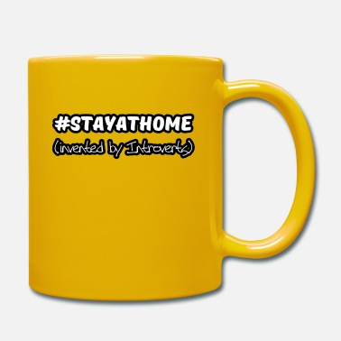 Virus Stay at Home Virus Introvert Nerd Spruch - Tasse