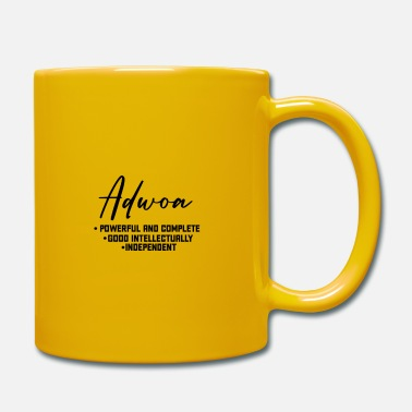Adwoa Call me by my name ! ADWOA Ghana - Monday. - Mug