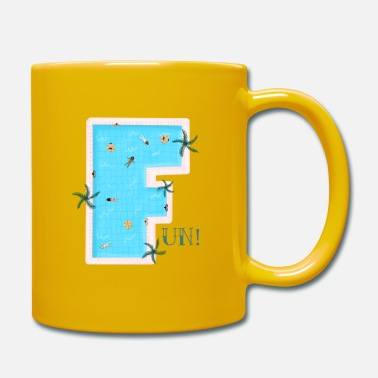 The F for Fun. When you think of swimming. - Mug