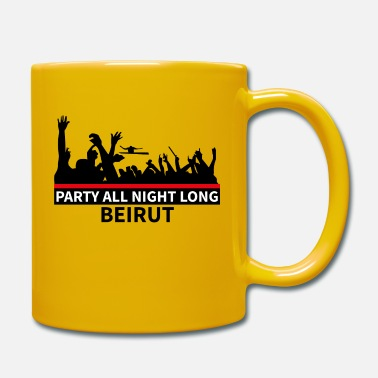 Party Party All Night Long Beirut - Mug