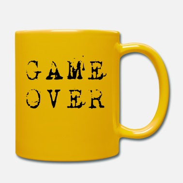 Game Over Game over - Tasse