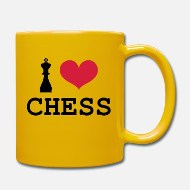 Ajedrez I Love Chess - Tasse