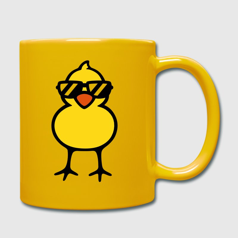 cool chick (rd) - Tasse einfarbig