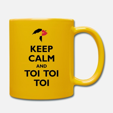 Toy Keep Calm and Toi Toi Toi - Mug