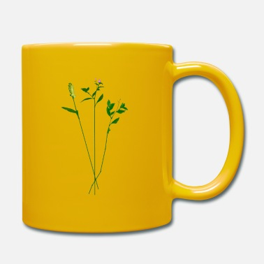 Grass grasses - Full Colour Mug