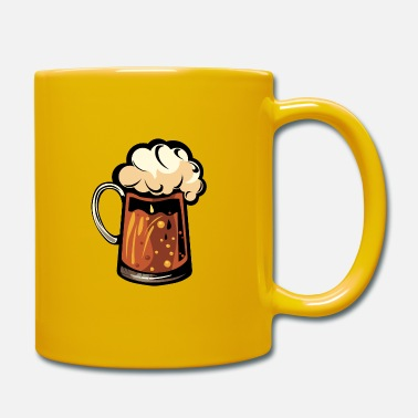beer foam mug binouze alcohol glass 1 2 Z - Mug
