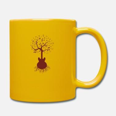 Tree Guitar & Tree Art, Guitar and Tree - Mug