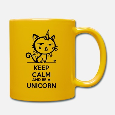 Keep Calm Cat unicorn - keep calm - Muki
