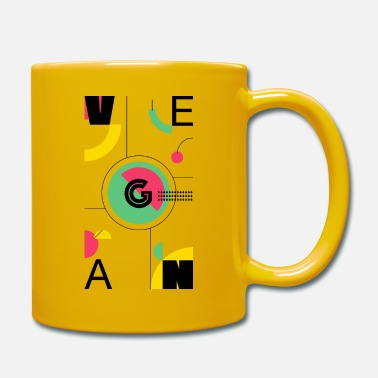 Abstract Vegan - Mug