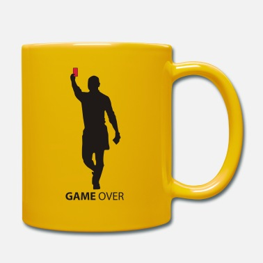 Red game over flex - Mug