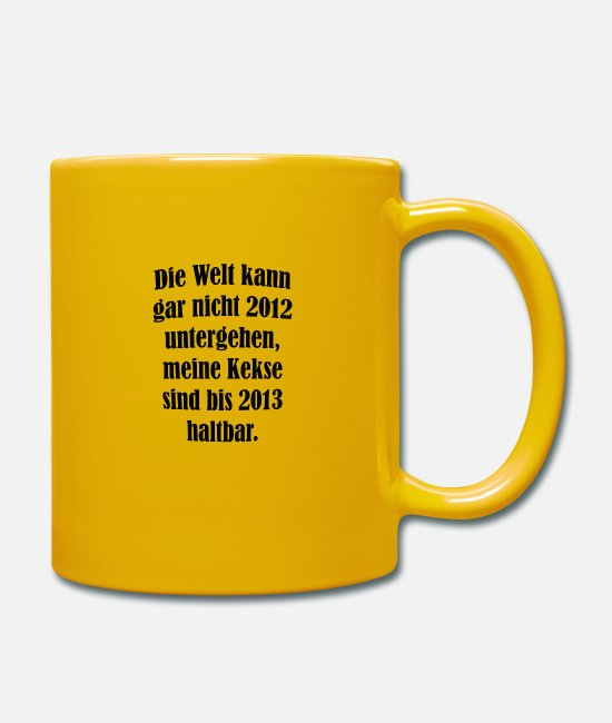 Quote Mugs & Drinkware - cool sayings - Mug sun yellow