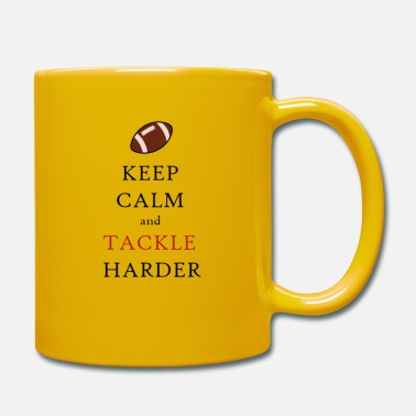 Rugby KEEP CALM and TACKLE HARDER - Tasse