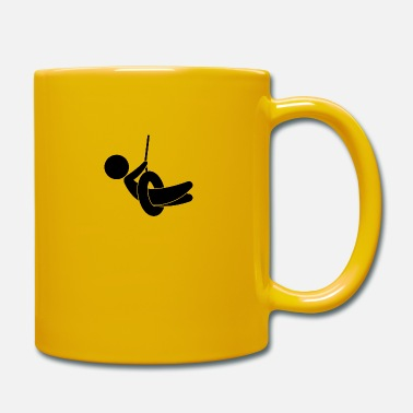 Children S Room Child On A Swing - Mug