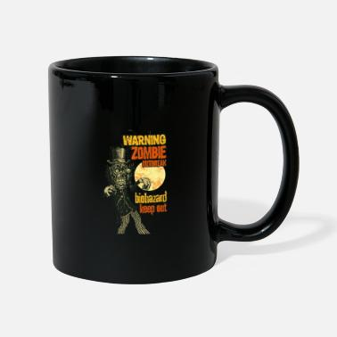 Advertencia zombie - Taza