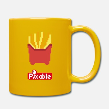 Pixel Pixable Fries - Tazza