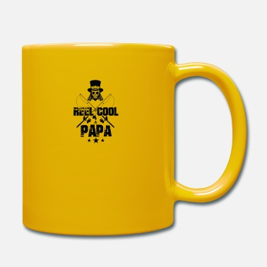 Fish reel cool dad fishing - Mug